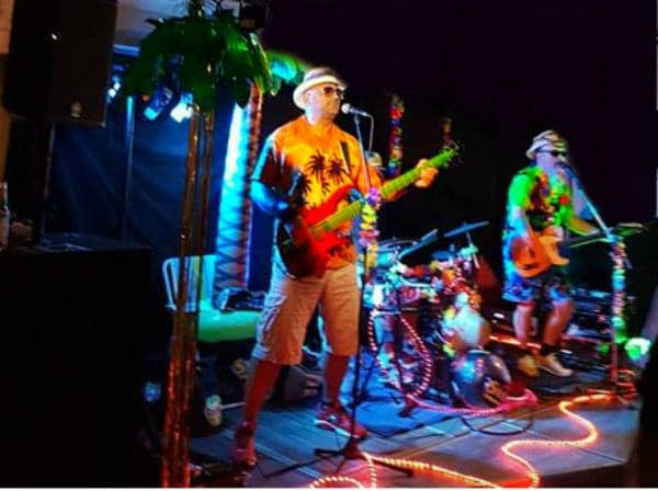 Hawaii Toy Boys party