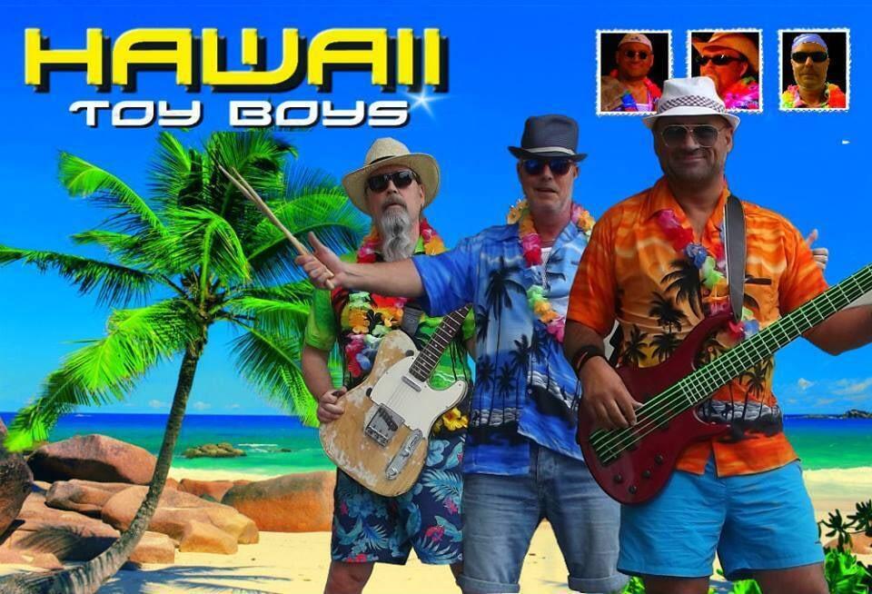 Sommarfest med Hawaiitema