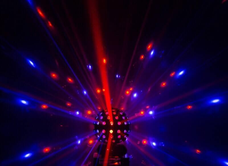 Led Globe ljuseffekt