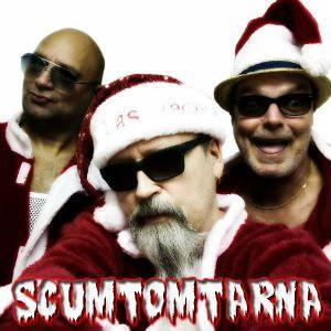 Scumtomtarna partyband till julborden