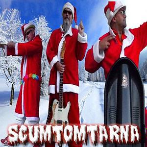 Scumtomtarna Partymusik till julfesten. Perfekt till julbord. Blandad partyrepertoar med allt från rock, dansband, schlager till ballader. Julgranar, glögg och snömaskiner.