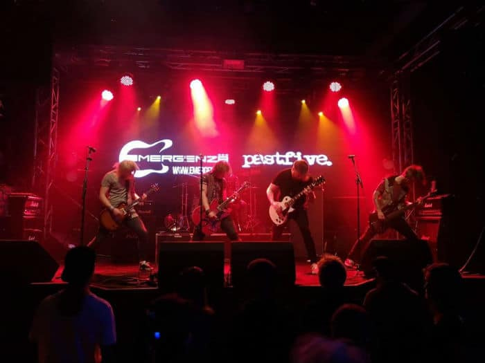 Pastfive band