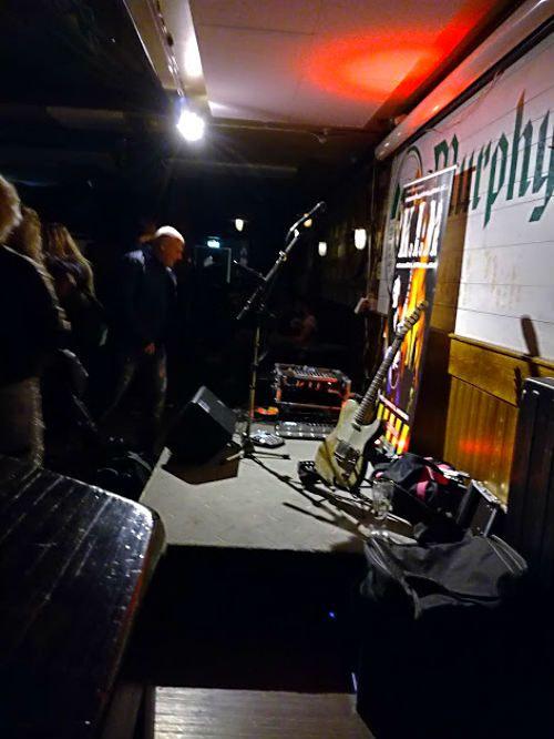 Kim livemusik på Murphys i Jönköping